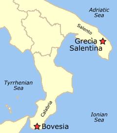 Mappa Griko